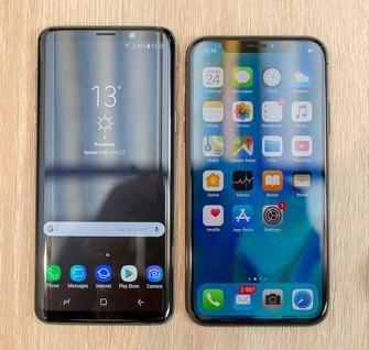 Apple iPhone X vs Samsung Galaxy S9.jpg