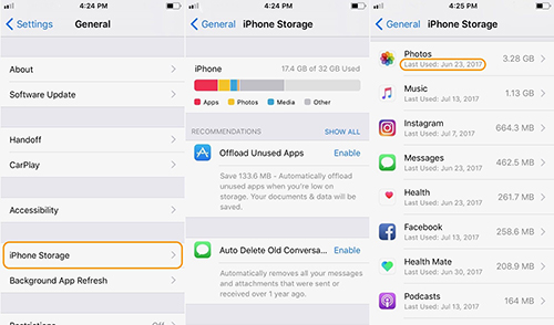 Free up space for iPhone, iPad running iOS 11 f1.jpg