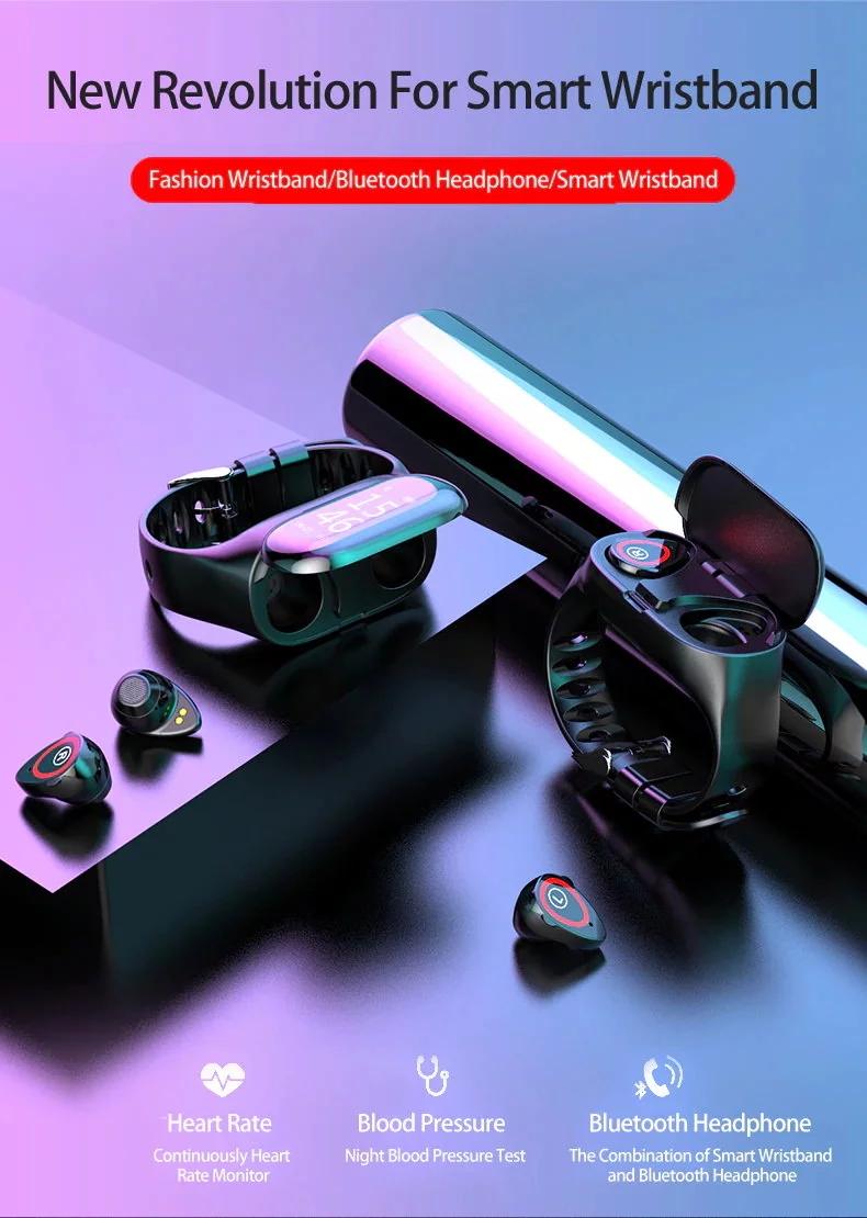 LEMFO M1 AI Smart Bluetooth Earphones Wristband.jpg